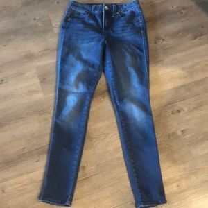 Seven high rise skinny jeans